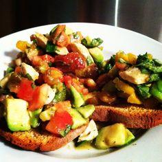 Cait's Summertime Bruschetta – New Face of Gluten Free Winner | Udi's® Gluten Free Bread