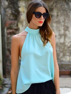 Juliette Top in Mint at Mura Boutique 2013