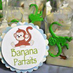 Finn Birthday... Barrel of monkeys glasses, barrels, jungl birthday, birthdays, bananas, birthday idea, finn birthday, monkey parti, monkey party