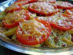 Squash and Tomato Tian | Drick's Rambling Cafe