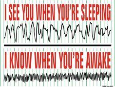 Santa...and Sleep Techs know when you're sleeping or awake. http://www.zazzle.com/i_see_you_when_youre_sleeping_shirts-235121171365151316 #sleep