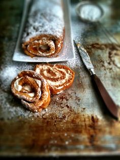 Maple Cream Cheese Pumpkin Rolls... Because We Will Need More Than One.