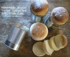 How To Bake Homemade Bread In Cans