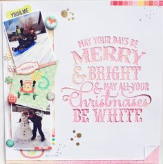 merry and bright by sarahboirin at @Studio_Calico