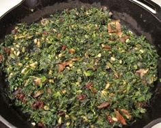 Spinach, Catalan Style - Sides - - paleo diet, paleo, recipe ...