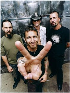 Godsmack. Saw them at Mayhem Festival 2011. THE best performance.