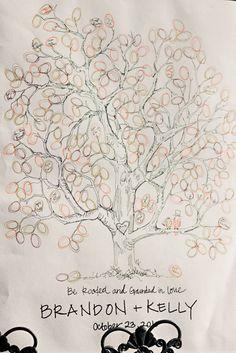 guest books, tree guest, paint inspir, creativ inspir