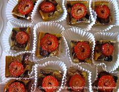 Strawberry Rhubarb fig clafouti