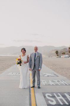Awesome Santa Monica wedding