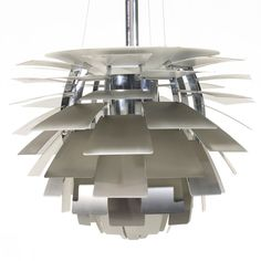 Artichoke light by Poul Henningsen
