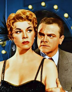 "3/10/14  8:44p ""Love Me or Leave Me"" Ruth Etting  was played by Doris Day in the story of her life  and James Cagney played her gangster husband, Marty Snyder  1955"