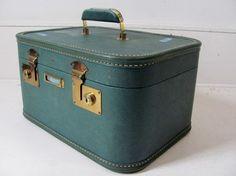 everyone needs a vintage train case!