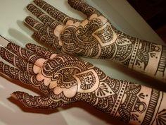 Bridal mehndi hands,