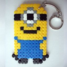 Despicable Me Minion Keyrings 5 to Choose From by Geekybeady