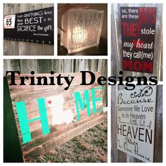 Gifts vinyl projects  https://www.facebook.com/TrinityDesigns03