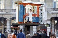 real people, live billboard, real life, train stations, pr stunt, ikea live