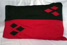Harely Quinn Inspired Pillowcase by GinKadia on Etsy, $20.00