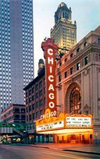 Chicago Theatre in Chicago, IL