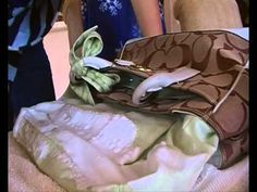 how to clean your coach bag, using Tuff Stuff. 6/28 I actually followed this video & cleaned my bag this morning. It works!!!