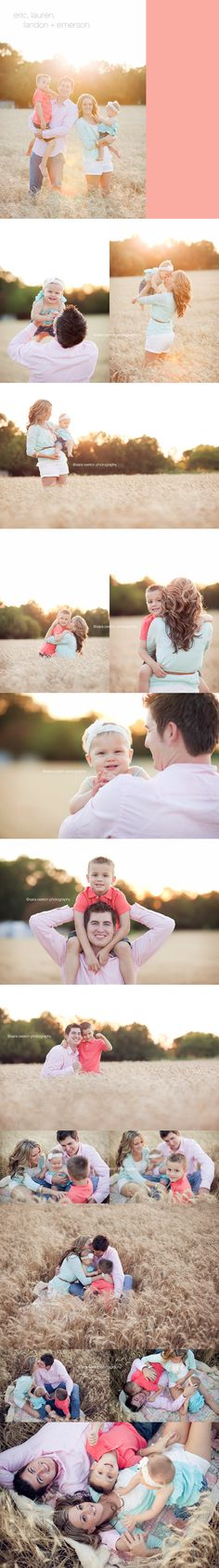 Would love to have a great family photo shoot like this with all my kids