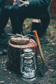 {<3} back to basics + camping.