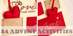 24 family advent activities