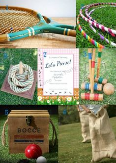 Love That Party: Picnic Party Games