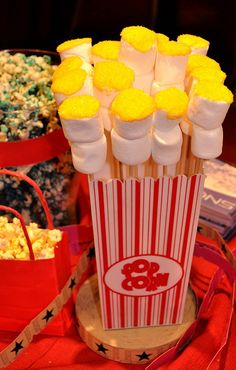 Popcorn marshmallows!