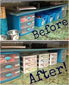 3rd Grade Thoughts: Fixing My Community Supplies Area!