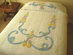 I love chenille bedspreads