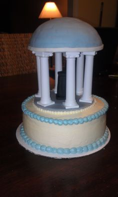 UNC Old Well cake