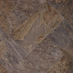 "<p>A unique 12"" x 24"" herringbone flooring pattern, Majesty brings a regal touch of intrigue, romance, and drama to any setting. This gorgeous floor features a weathered slate visual, robust rich colors, and natural clefts that will transform any room into a castle.</p>"