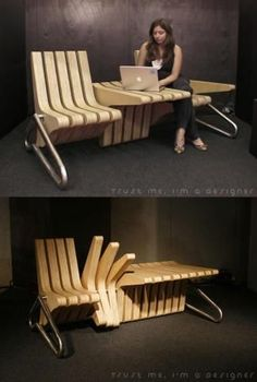 This is what seating in public spaces should be like