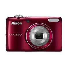 #8: Nikon COOLPIX L26 16.1 MP Digital Camera with 5x Zoom NIKKOR Glass Lens and 3-inch LCD (Red)