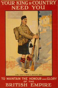 World War I Recruitment Poster