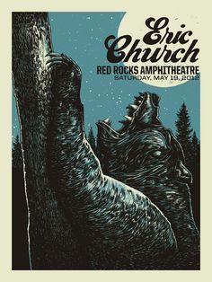 Eric Church; Red Rocks