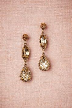 Demure Sparkle Earrings from BHLDN