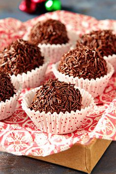 Peppermint Mocha Chocolate Kahlua Truffles