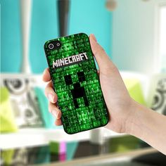 New custom Minecraft creepers iphone 5 5s case best for birthday gift 51224166