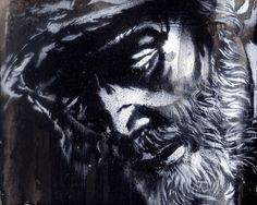Stencil Graffiti by Colasa