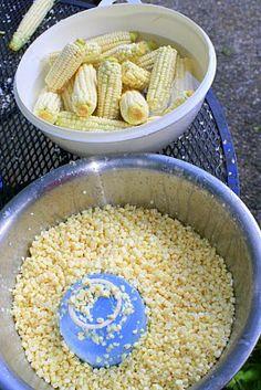 Recipes We Love: Freezing Corn