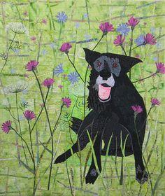 """""""Annie"""" by Kathie Briggs   art quilt"""