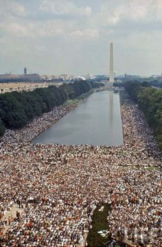 Civil Rights March, Washington, 1963.