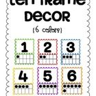 Ten Frame decor! 6 Color Choices! $3