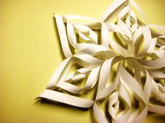 Beautiful+Paper+Snowflake+#howto+#tutorial