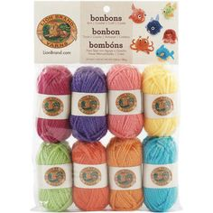 This Bonbons Yarn is the perfect gift for an avid knitter. They'll be delighted at this trove of colors. If you don't know any knitters who would love this gift, treat yourself! You can make great Christmas gifts from these colorful yarns. Plus, the price is a steal! $6.79