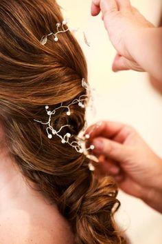 Hair Vine — pretty for bridal hair.
