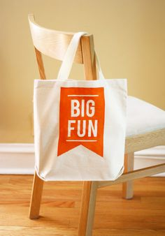 How About Orange: DIY printed tote bag using the sun