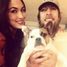Brie Bella & Daniel Bryan, WWE  Photo by nicoleandbri