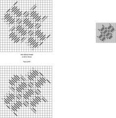SCALLOPS needlepoint stitch